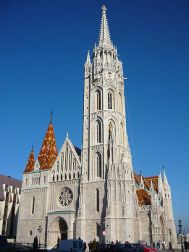 Matthias Church Budapest, Hungary from Wikipedia